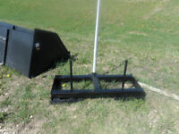 New Tomahawk Hay Spear attachment for Skid Steer