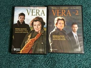 2 complete series of VERA   dvd  series one and two  boxed set