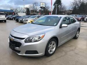 2015 Chevrolet Malibu LS silver 2.5 engine PRICED to SELL