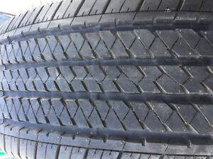 255/70 R 17  BRIDGESTONE SUMMER TIRES 100% TREAD