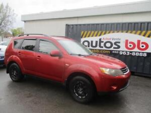 2008 Mitsubishi Outlander ( 4x4 - 7 PASSAGERS )
