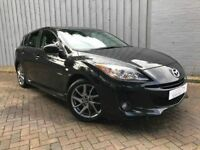 2013 Mazda 3 1.6d Venture Edition, Diesel, Scarce Model, Gorgeous in Black, Low Miles, 70+ MPG