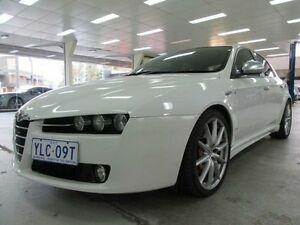 2011 Alfa Romeo 159 MY09 2.4 JTD TI White 6 Speed Automatic Sedan Fyshwick South Canberra Preview