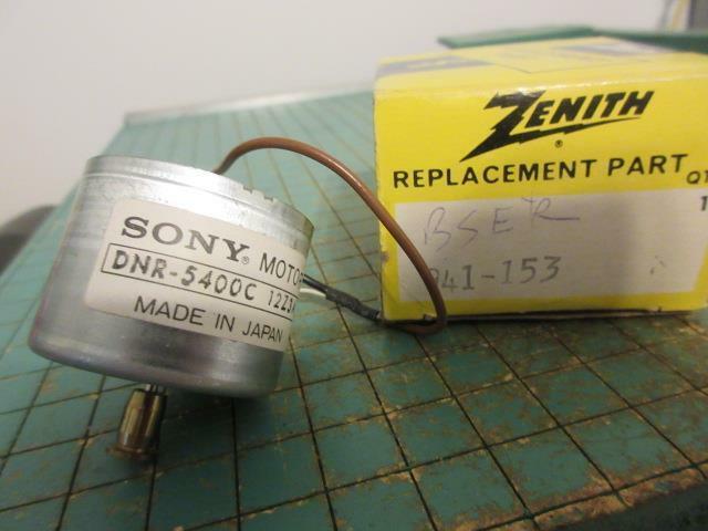 Vintage Zenith 941-153 Motor - Sony DNR-5400C for Betamax SL5000