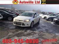 2013 Ford Focus SE AUTO LOW KM $ 10988 Everyone Approved