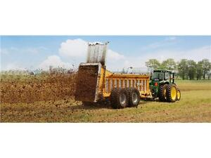 TUBE-LINE NITRO 600 - 17 TON VERTICAL BEATER MANURE SPREADER