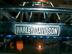 Harley heritage softail chrome rack   recycledgear.ca