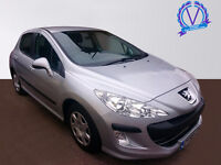 PEUGEOT 308 1.6 HDi 90 S 5dr (silver) 2008