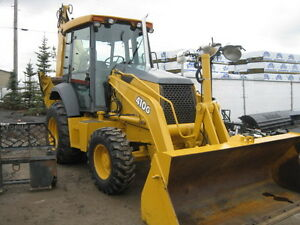 EXCELLENT CONDITION 410G J/D  LOADER BACKHOE / EXTENDAHOE