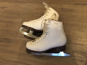 Professional figure skates for girls, size 12 and size 2.5