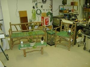Rustic Cedar Patio set