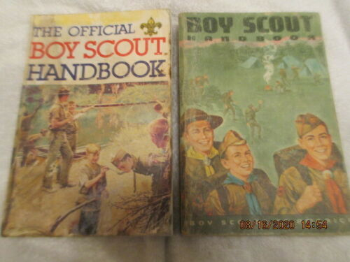 The Official Boy Scout Handbook Manual Vintage Paperback Books Edition 1986 1966