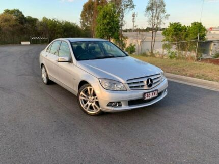 2011 Mercedes-Benz C-Class W204 MY11 Silver 7 Speed Sports Automatic Sedan Darra Brisbane South West Preview