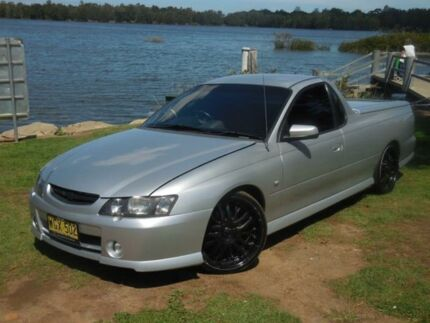 2004 Holden Ute VY II SS Silver Manual Utility