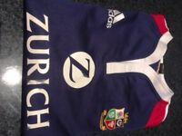 Official British & Irish Lions 2005 New Zealand tour rugby shirt XXL
