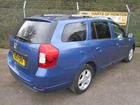 Dacia Logan 0.9 Laureate TCe 5DR Estate (sargasso blue) 2014