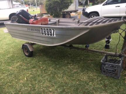Bermuda 3.15m Dingy 15hp Mercury and Collapsible Trailer