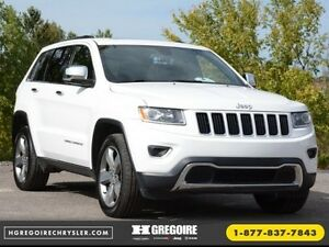 2015 Jeep Grand Cherokee LIMITED A/C CUIR TOIT NAV BLUETOOTH CAM