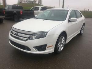 2012 Ford Fusion SPORT Leather Interior,