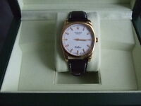 Gents Rolex Dress Gold Watch