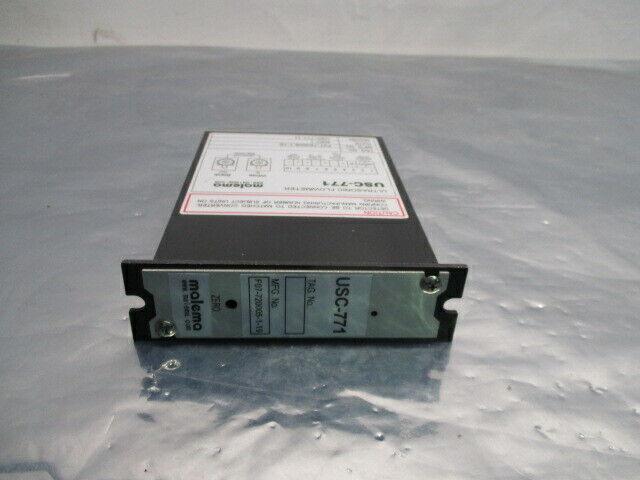 Malema USC-771-11 Ultrasonic Flowmeter, USC-771, F07-720005-1-19, 453650