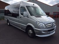 Minibus & Minicoach Hire For Any Occasion,London & Essex Ariport Transfers ,12,14,16,19 seats