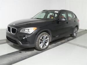 2014 BMW X1 xDrive28i SPORT MAGS 18 CUIR ROUGE TOIT PANOR.