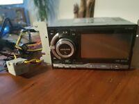 Alpine iXA-W404R double din digital media receiver Car Stereo Radio Bluetooth