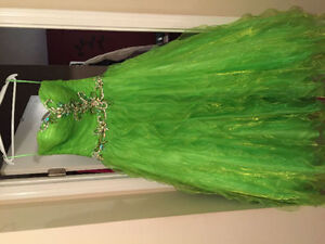 Lime Green Prom Dress Prince George British Columbia image 2
