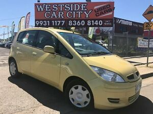 2004 Mitsubishi Colt RG LS Yellow Continuous Variable Hatchback Laverton Wyndham Area Preview