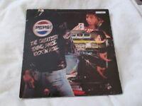 Vinyl LP La Grande Storia Del Rock - Various Artists Italy Pressing Curcio GSR 17 Stereo