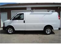 2007 CHEVY EXPRESS CARGO VAN 4.8L 205 KMS FOR ONLY $9,450.