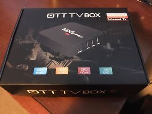 MXQ PRO 4K Android Box - BRAND NEW in BOX !