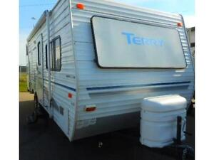 2004 TERRY 220 RBS - REAR BUNKS TRAVEL TRAILER