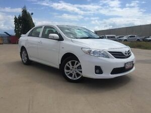 2012 Toyota Corolla ZRE152R MY11 Ascent Sport White 6 Speed Manual Sedan Garbutt Townsville City Preview