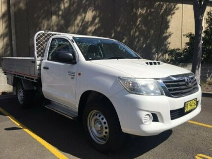 Toyota Hilux SR single Cab 4x4 Diesel manual 2013 (MY14). Fitted with Alloy tray sides and Rolloc Tr Seven Hills Blacktown Area Preview