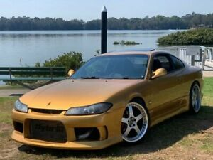1999 Nissan Silvia S15 Spec R Gold 6 Speed Manual Coupe Lansvale Liverpool Area Preview