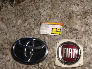 Fiat 500 front grill logo sign - Brand new
