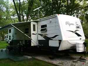 2005 38foot pilgrim travel trailer