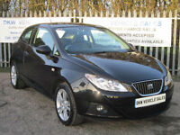 SEAT IBIZA1.6 SPORT COUPE DSG 2009 (59) ONE OWNER 52K FSH 6 X STAMPS / 1YRS MOT!