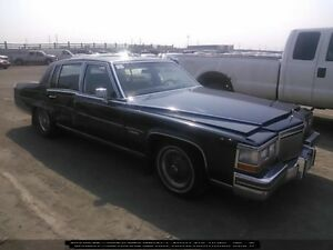 1981 CADILLAC FLEETWOOD BROUGHAM SALVAGE ONLY 45k
