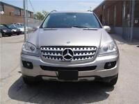 2006 MERCEDES BENZ ML 350 ,MUST SEE,LOW KM,ONE OWNER