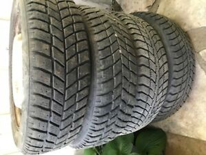 4 winter tires and rims Hankooks 175/65R14