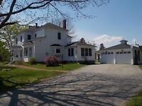 Country home and land for sale, minutes to town