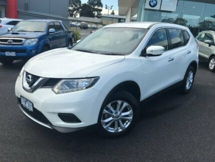 2015 Nissan X-Trail White Constant Variable Wagon Traralgon Latrobe Valley Preview