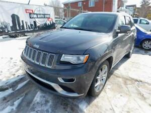 JEEP GRAND CHEROKEE SUMMIT 2015 ( NAVIGATION, TOIT PANORAMIQUE )