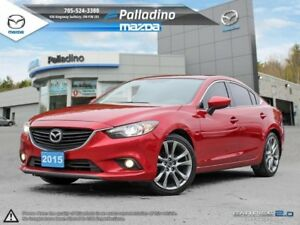 2015 Mazda Mazda6 GT-WHAT A BEAUTY!- LEATHER INTERIOR- TOUCHSCRE