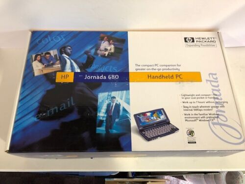 HP Jornada 680 Handheld Windows CE Brand New HP sealed Collectible LOOK