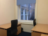 Small office for 3 people to rent in glasgow city centre for £300 a month + VAT