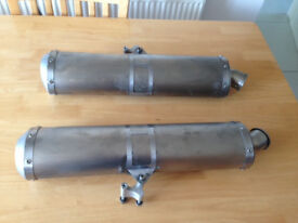 Akrapovic End Cans for KTM 990/950